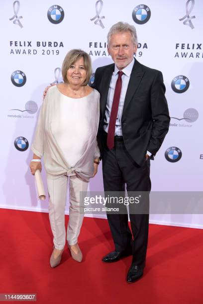 Paul Breitner and his wife Hildegard attend the Felix Burda Awards ceremony The Felix Burda Foundation honours projects and services in the field of...