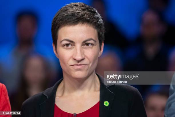 Ska Keller the leading candidate of the German and European Greens in the 2019 European elections is on the verge of the exchange of blows in the ZDF...