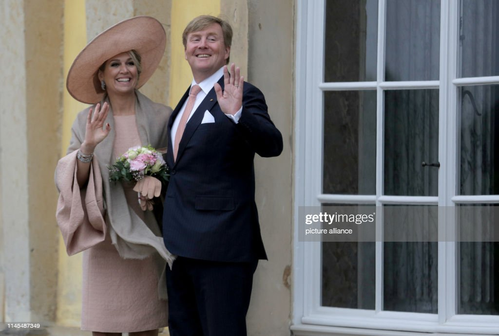 DEU: Dutch Royal Couple Visits Potsdam
