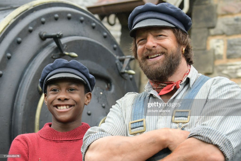 DEU: Filming Of: Jim Button And Luke The Engine Driver