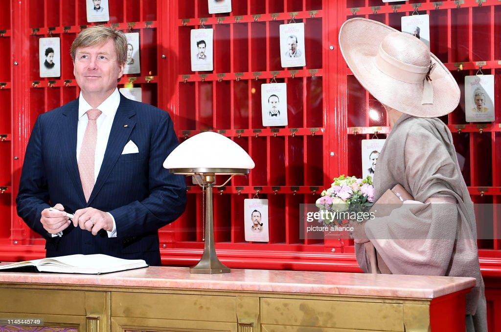 DEU: Dutch Royal Couple Visits Potsdam