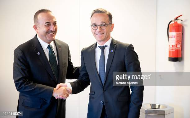 May 2019, Finland, Helsinki: Heiko Maas , Foreign Minister, and Mevlüt Cavusoglu , Foreign Minister of Turkey, will meet for bilateral talks in the...