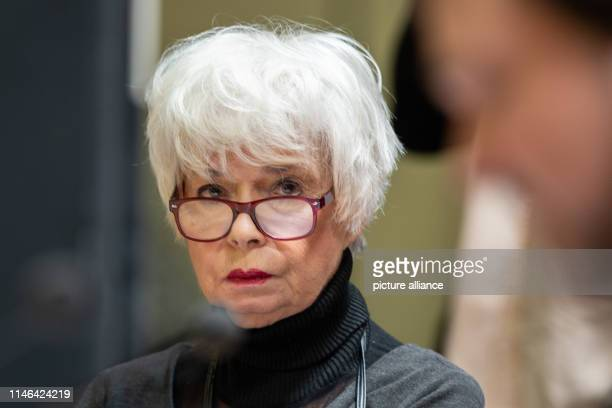 Actress Ingrid Steeger sits at the beginning of rehearsals for the 69th Bad Hersfeld Theatre Festival The openair festival will open on with the...