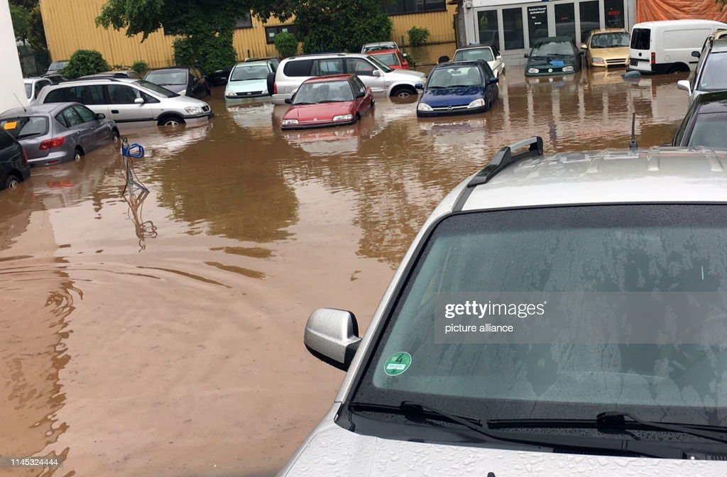 DEU: Rainfall And Floods In Germany