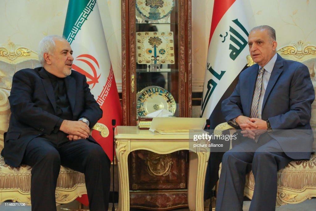 IRQ: Iranian Foreign Minister Zarif Visits Baghdad