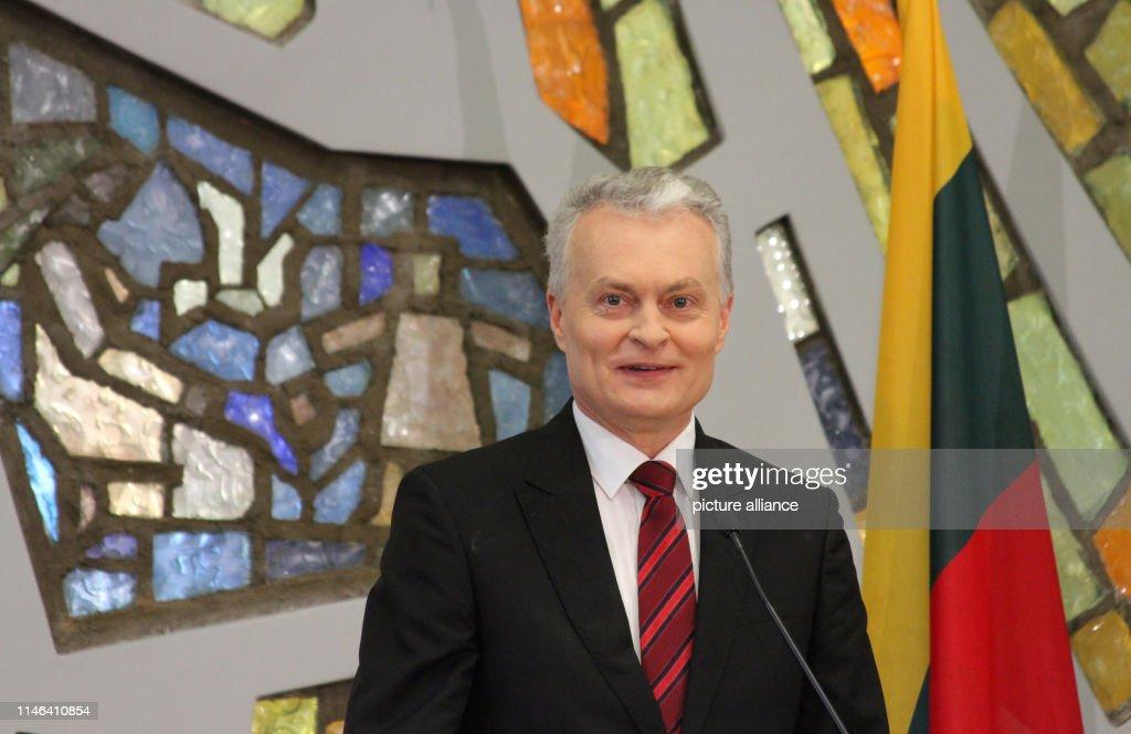 LTU: Newly Elected Lithuanian President Gintanas Nauseda