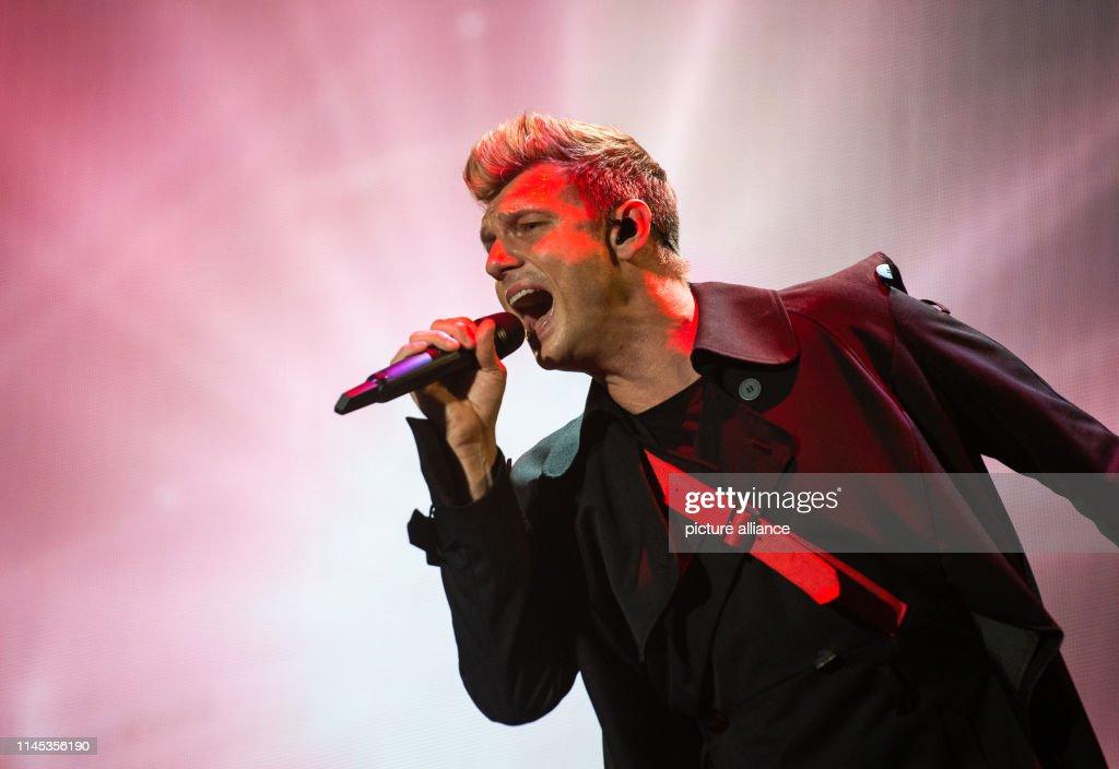 DEU: German Tour Kick-Off Backstreet Boys