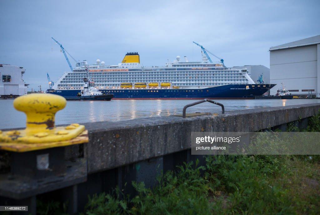 "DEU: New Cruise Ship ""Spirit Of Discovery"""