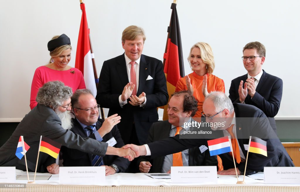 DEU: Dutch Royal Couple Visits Mecklenburg-Western Pomerania