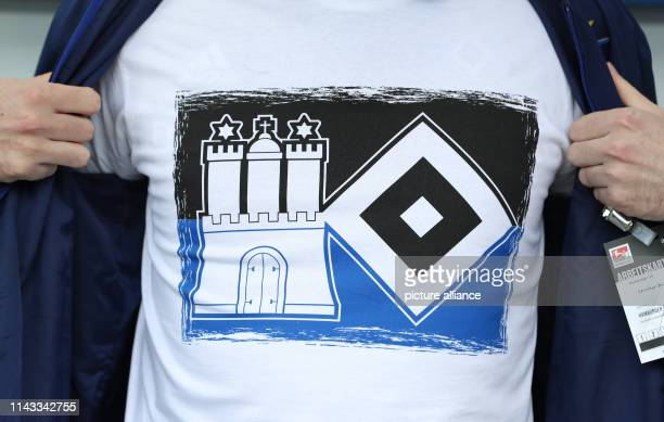 HSV Poloshirt Gunnar Hamburger SV T-Shirt HSV Logos türkisblau