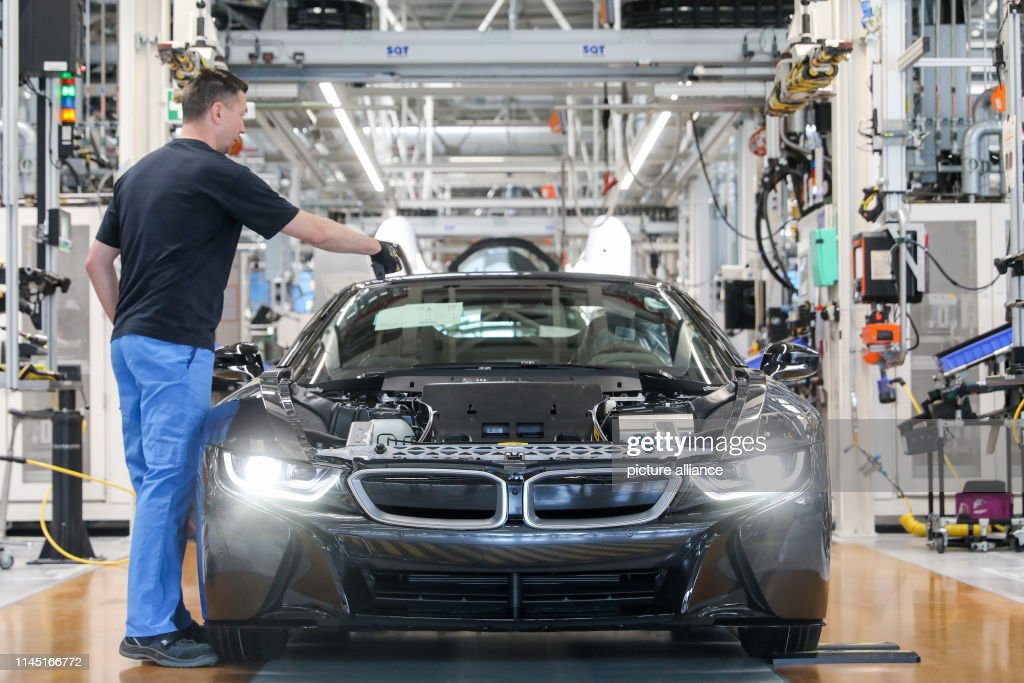 DEU: Steinmeier Visits BMW Plant In Leipzig And Promotes Europe