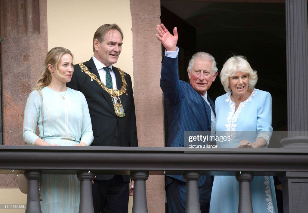 DEU: Prince Charles And Duchess Camilla In Leipzig