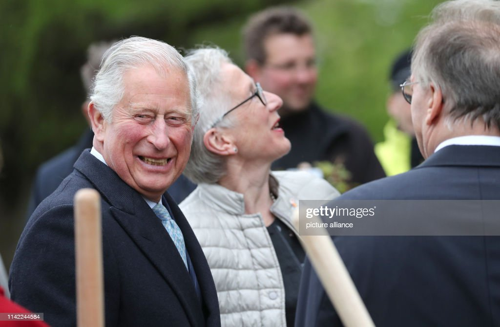 DEU: Prince Charles And Duchess Camilla In Woerlitz