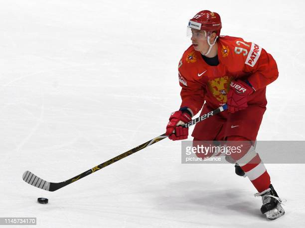 Ice hockey World Championship Russia USA final round quarter finals in Ondrej Nepela Arena Russia's Nikita Goosev in action Photo Monika...