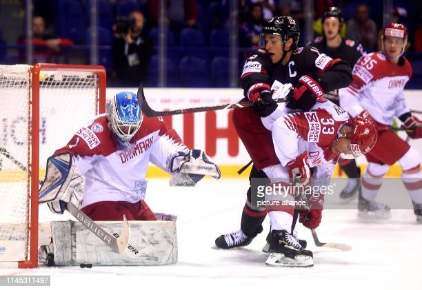Ice hockey World Championship Canada Denmark preliminary round Group A 6th matchday in the Steel Arena Canada's Kyle Turris in action against...