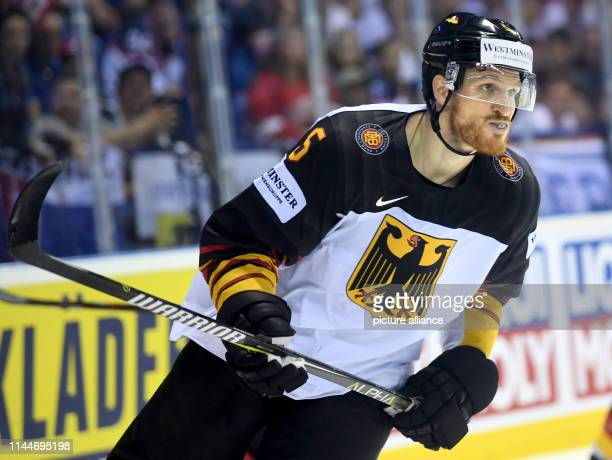 Ice hockey World Championship Canada Germany preliminary round Group A 5th matchday in the Steel Arena Germany's Korbinian Holzer in action Photo...