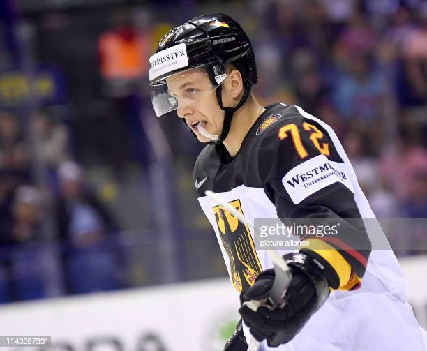 Ice hockey World Championship Denmark Germany preliminary round Group A 2nd matchday in the Steel Arena Germany's Dominik Kahun crosses the ice Photo...