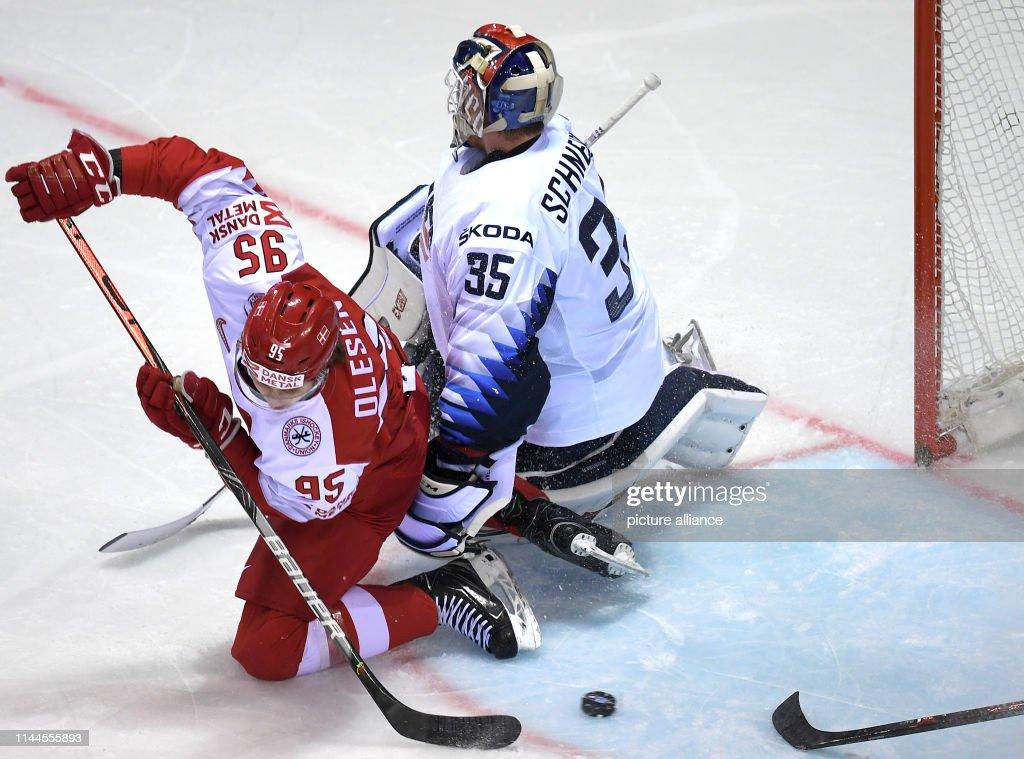 SVK: Ice Hockey World Championship Denmark - USA