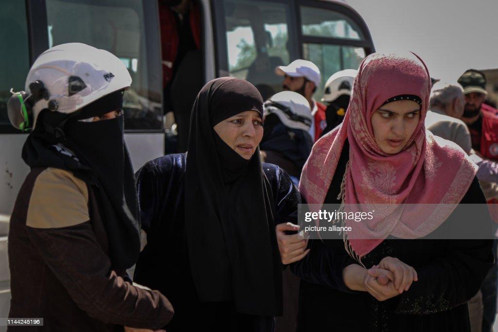 SYR: Prisoner Exchange In Syria