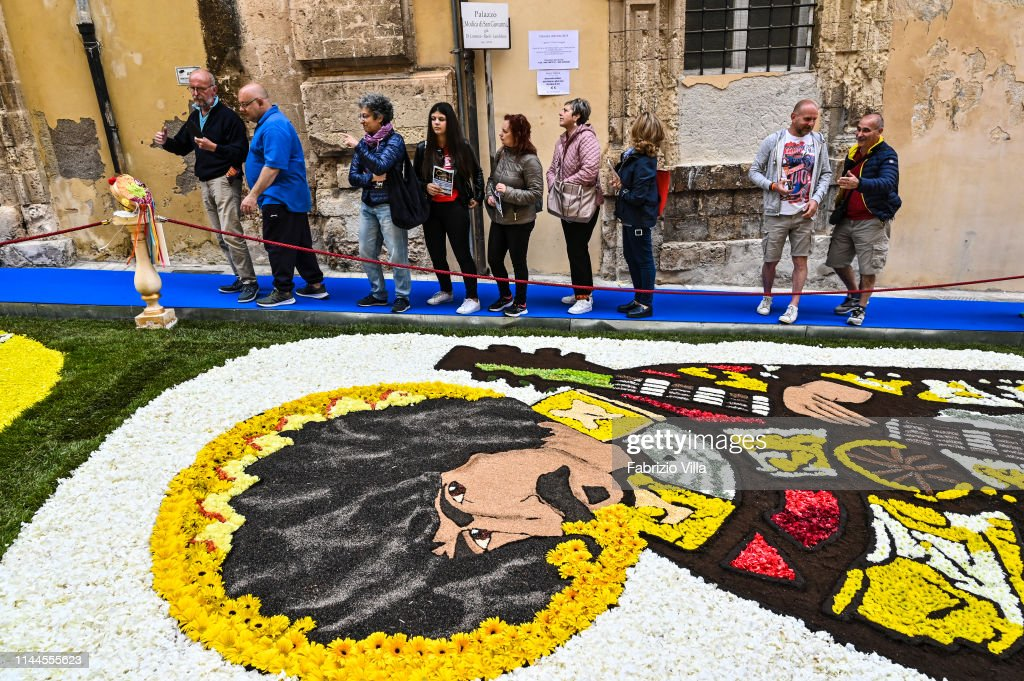 ITA: Infiorata di Noto 2019 Tells The Story of Sicilian Migrants To America