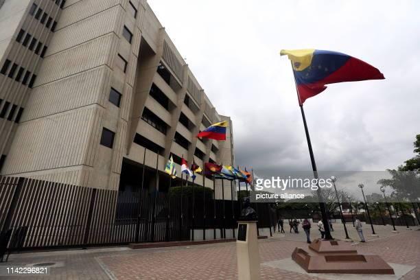 May 2019, Venezuela, Caracas: View of the seat of the Supreme Court in Venezuela. Photo: Pedro Mattey/dpa