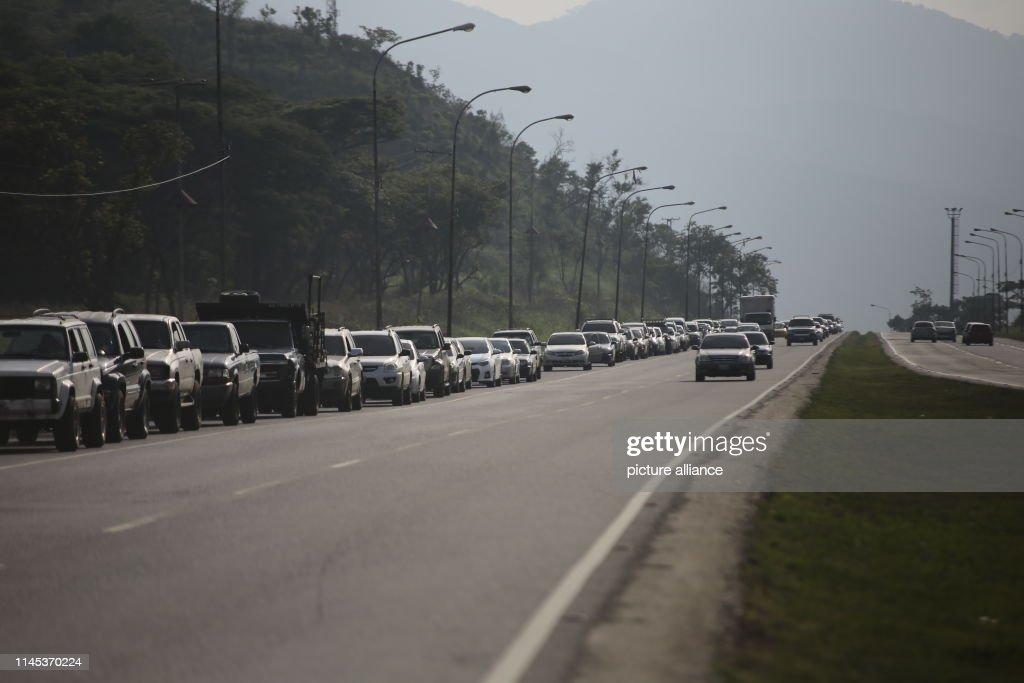 VEN: Fuel Shortage In Venezuela