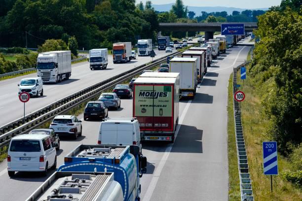 DEU: Tourist Traffic Before Whitsun Weekend