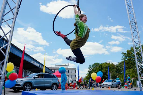 DEU: Coronavirus - Drive-In Circus Festival