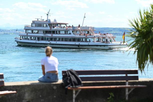 DEU: Coronavirus - Lake Constance - White Fleet Takes Off Again