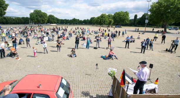 DEU: Demonstrations Against Coronavirus Restrictions