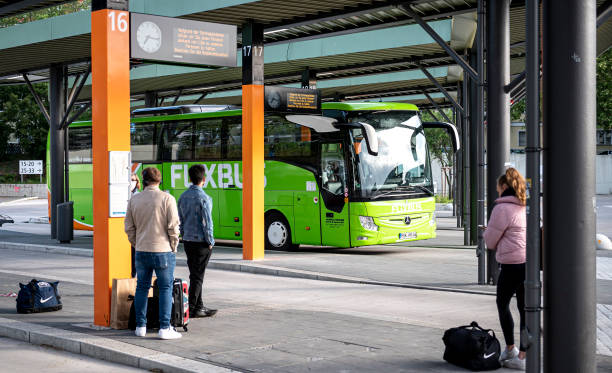 DEU: Flixbus Back On The Road