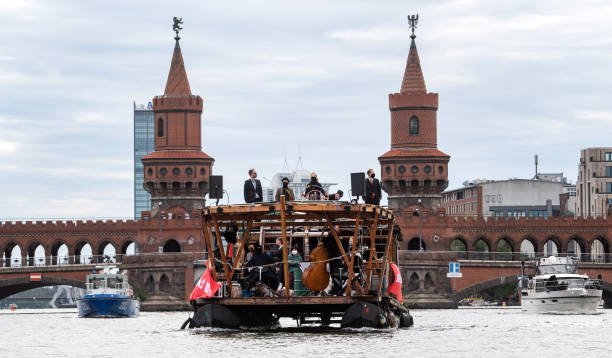 DEU: German Symphony Orchestra Plays On A Raft