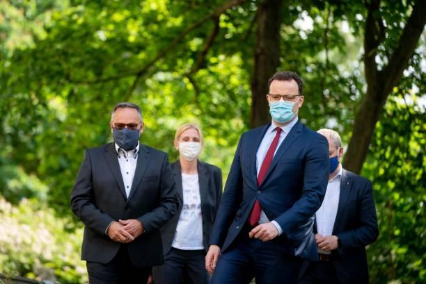 DEU: German Federal Minister Of Health Jens Spahn Visits Nursing Home