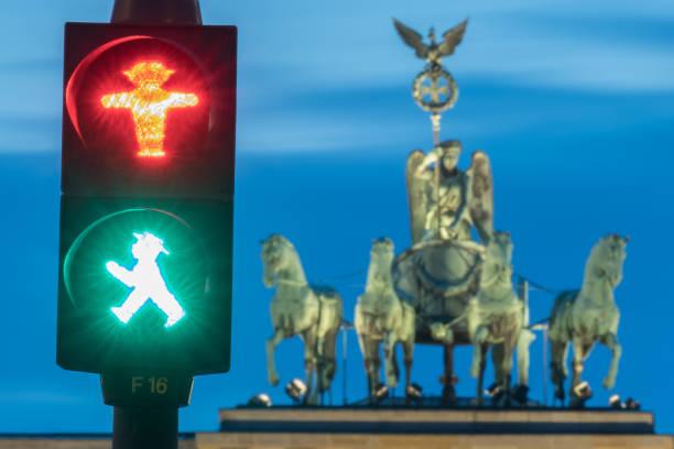DEU: Brandenburg Gate At The Blue Hour