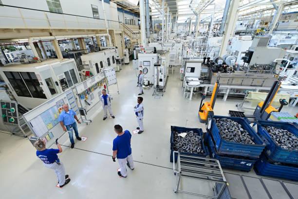 DEU: VW Plant In Kassel During Corona Times