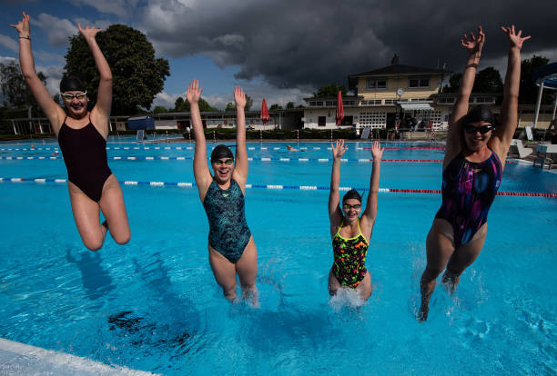 DEU: Opening Of Open-Air Swimming Pools