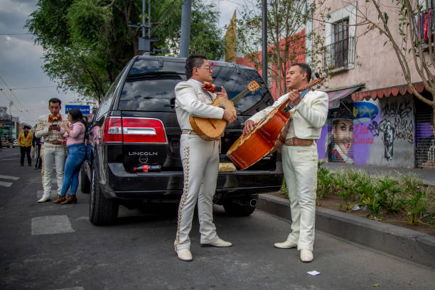 "MEX: Mariachis In Mexico Ask For ""Rescue"""