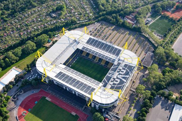 DEU: Bundesliga Borussia Dortmund - Bayern Munich - Aerial Stadium View