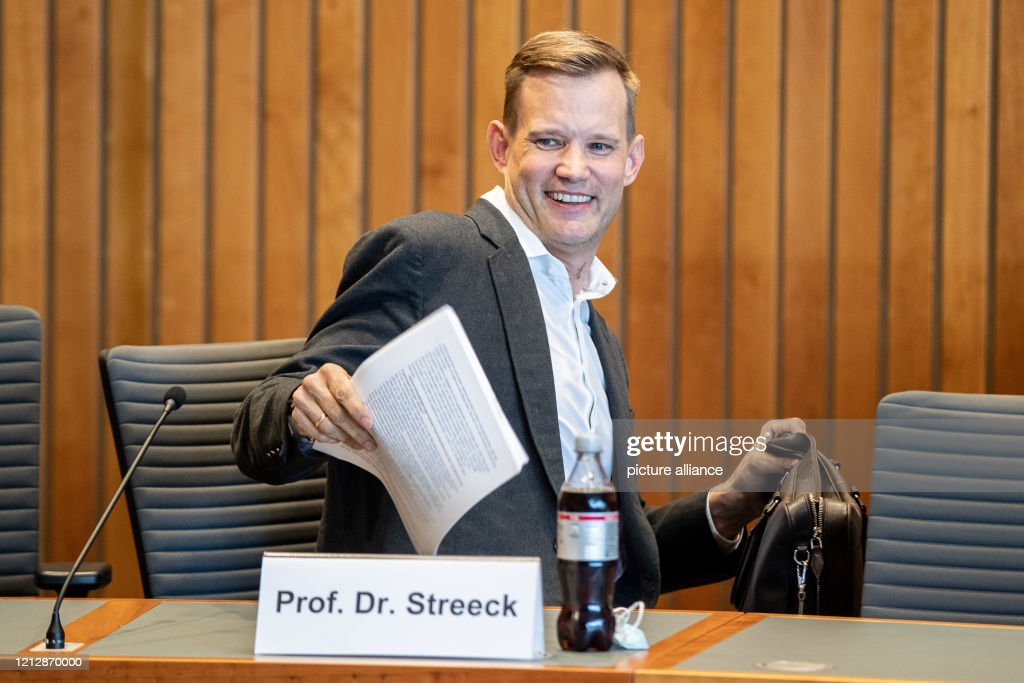13 May 2020, North Rhine-Westphalia, Duesseldorf: Hendrik Streeck,... News  Photo - Getty Images