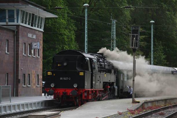 DEU: Mountain Queen steams Through The Harz Mountains