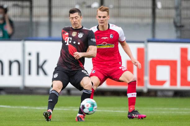 DEU: Bundesliga SC Freiburg - Bayern Munich