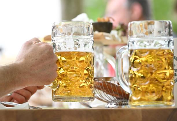DEU: Coronavirus - Opening Of The Beer Garden Season