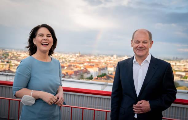DEU: Annalena Baerbock And Olaf Scholz