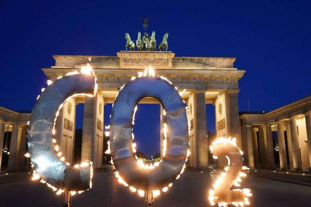 DEU: Climate Protest In Front Of The Brandenburg Gate