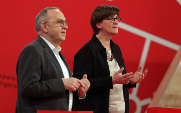 DEU: Online Federal Party Conference Of The SPD In Berlin
