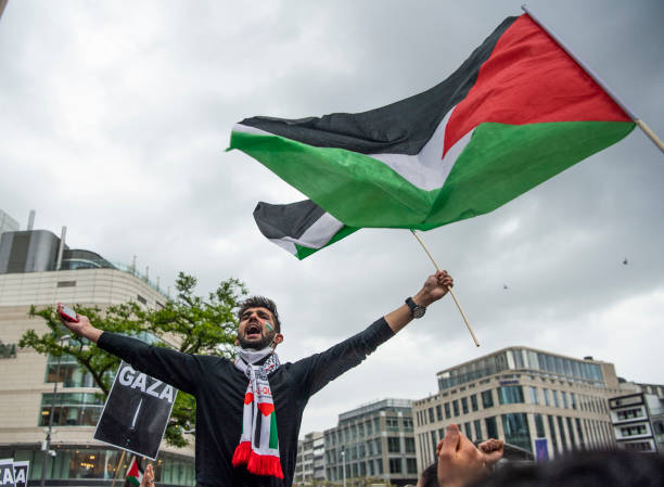 DEU: Pro-Palestinian Demonstrations In Germany