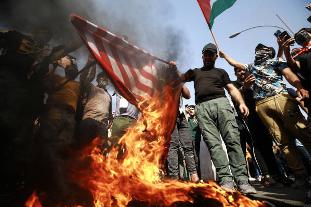 IRQ: Pro-Palestine Demonstration In Baghdad
