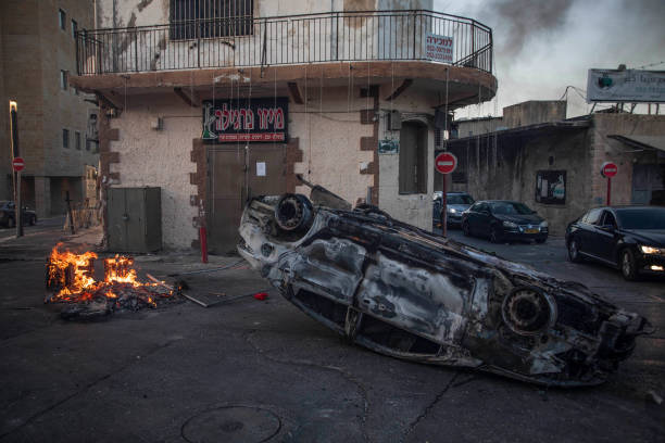 ISR: Violent Riots In Israel's City Of Lod