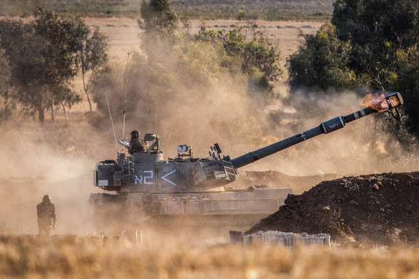 ISR: Israeli-Palestinian Conflict - Israeli Army Artillery