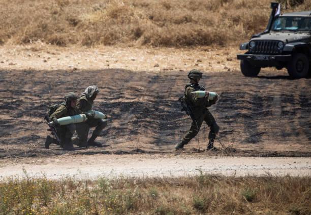 ISR: Israeli-Palestinian Conflict - Israeli Artillery